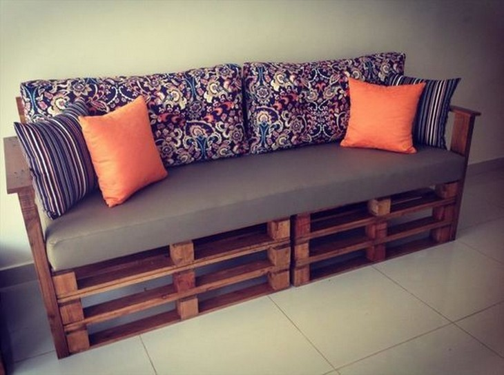 pallet wooden couch