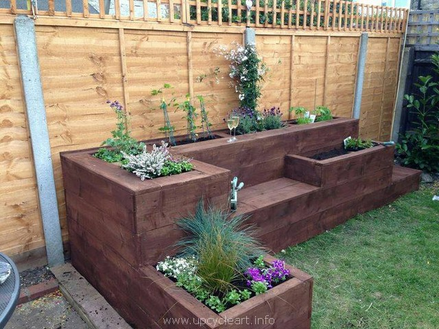 pallets raised garden