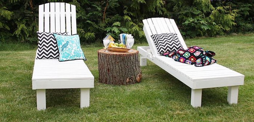 patio pallet sun loungers