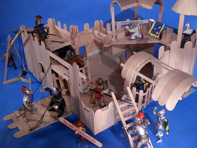 popsicle sticks kids playland