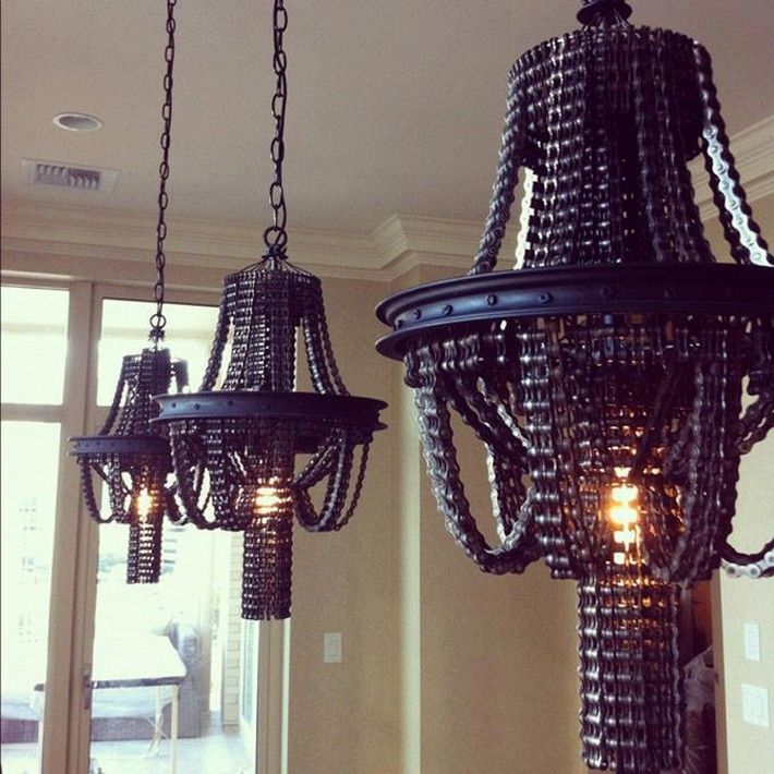 recycled industrial lighting idea