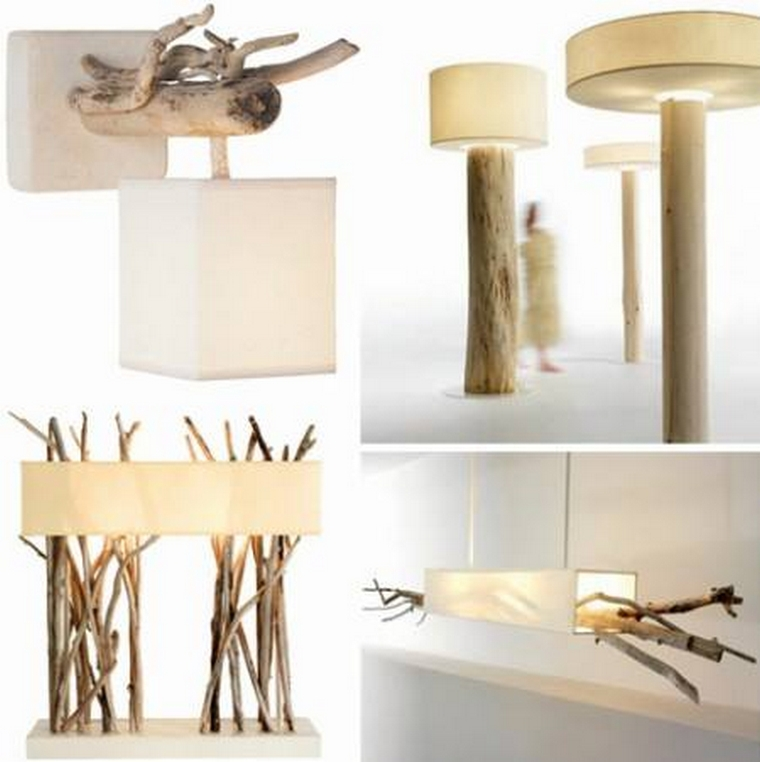 repurposed wooden lamp plans