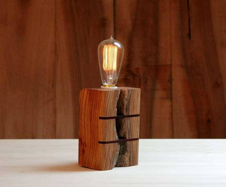 Lamps Made From Recycled Wood