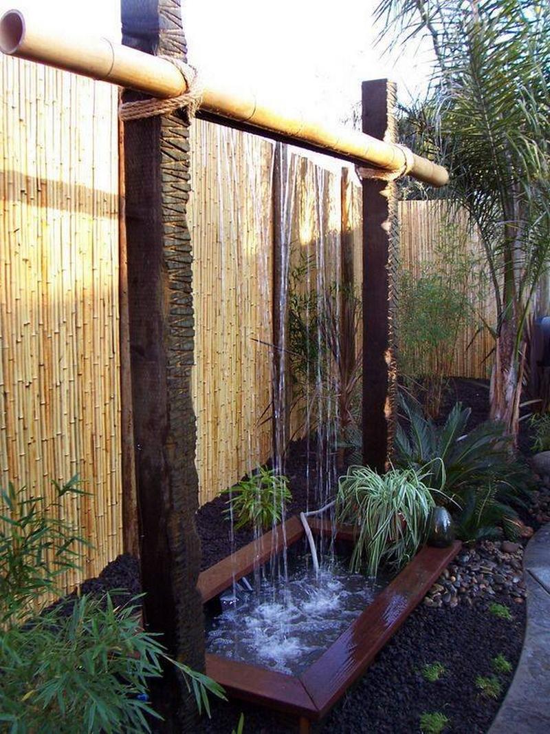 water idea for garden