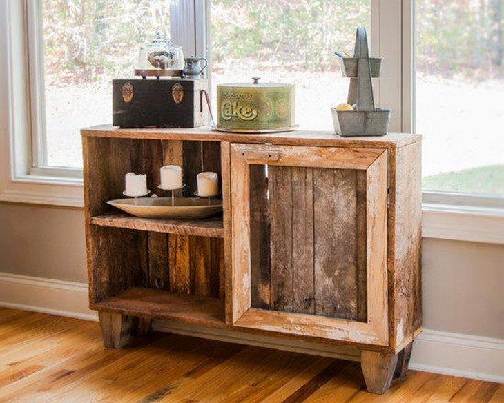 wood pallet side table plan