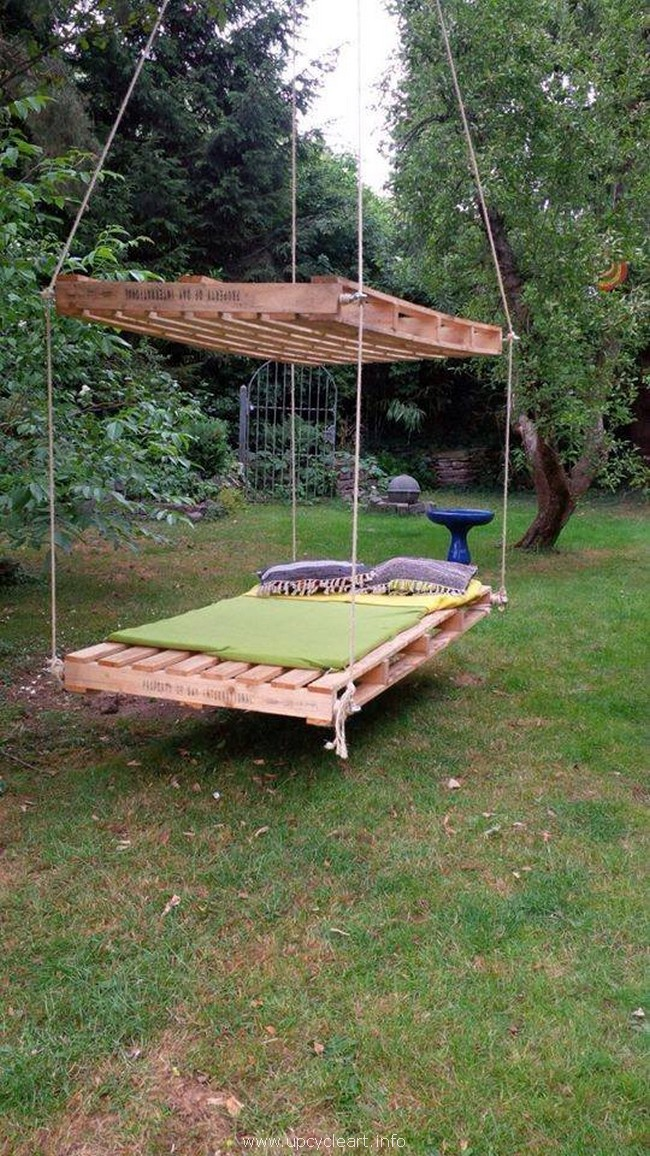 wood pallet swing plan