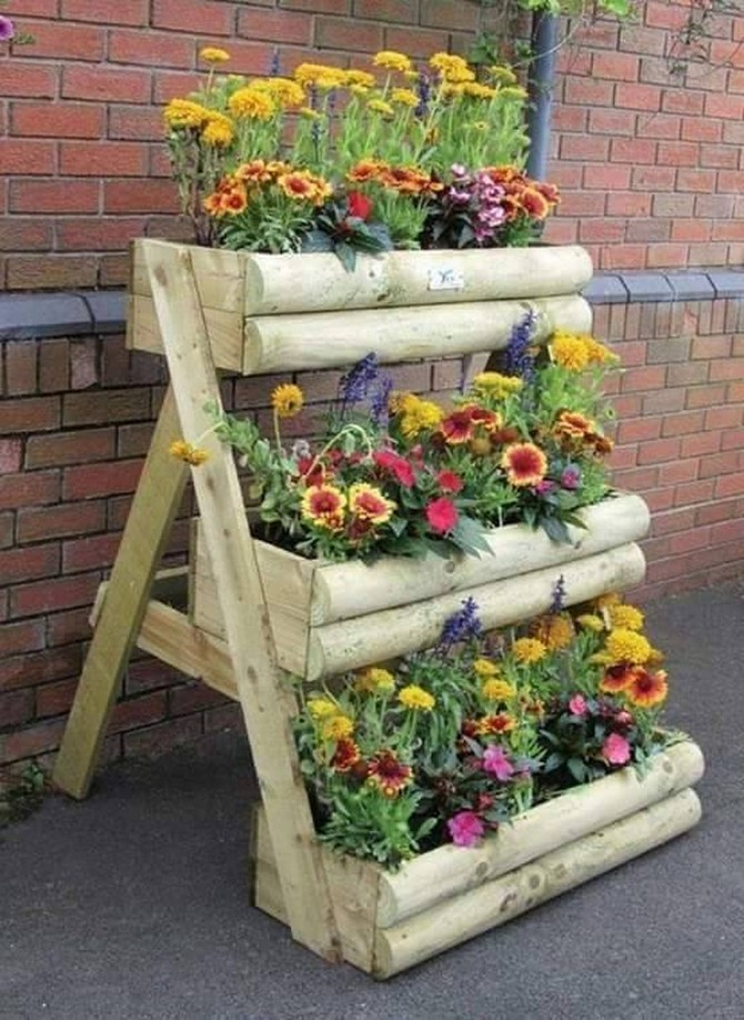 wood planter idea