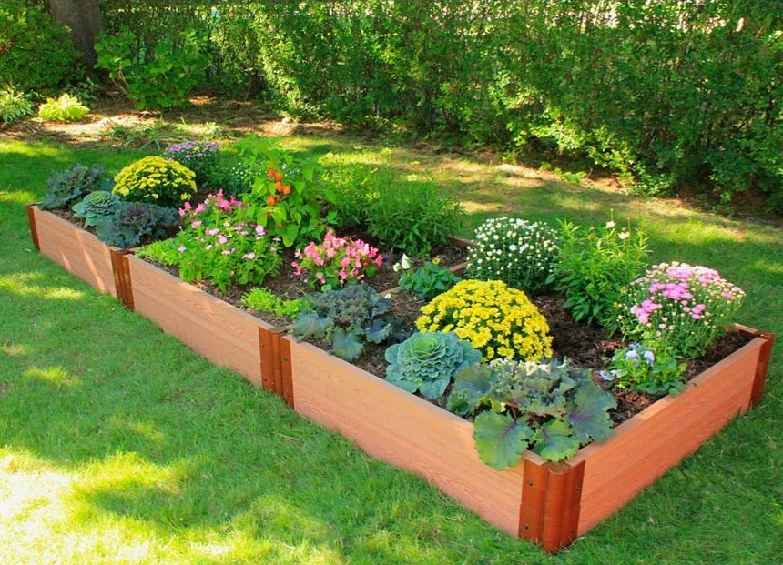 Composite Raised Garden Bed