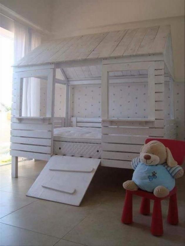 amazing-pallet-bunk-bed