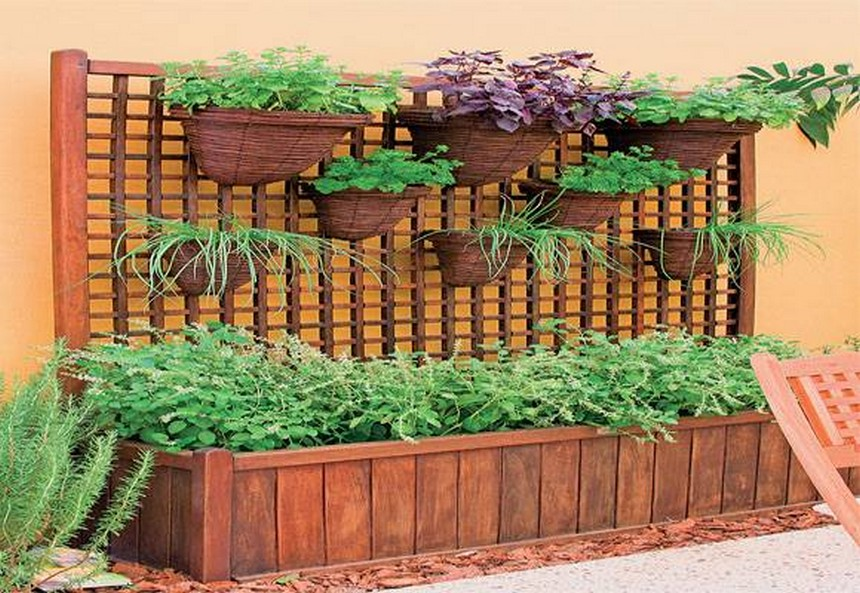 charming raised garden bed