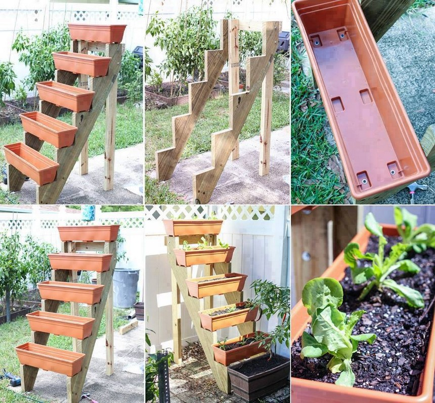 diy raised garden bed plan