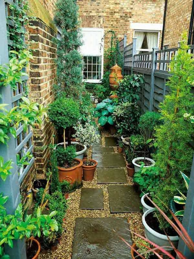 patio garden plan