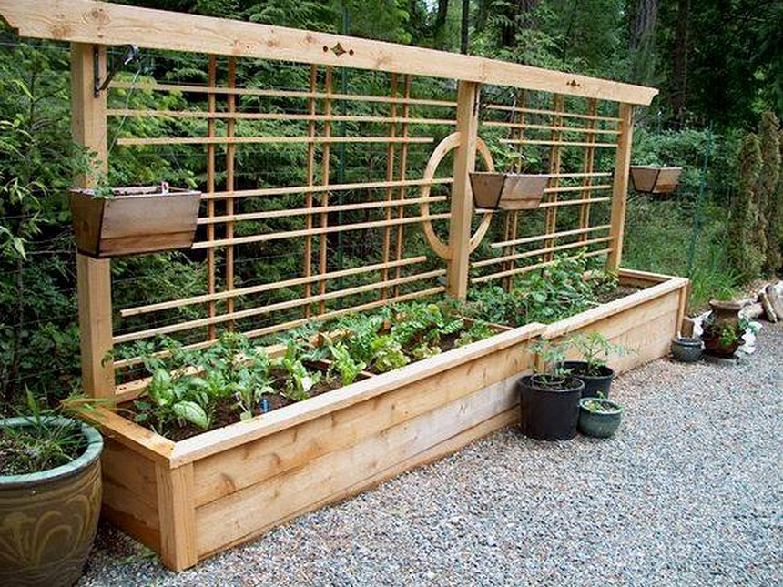 30 ideas for raised garden beds upcycle art for Garden bed designs