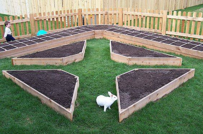 raised bed pattern