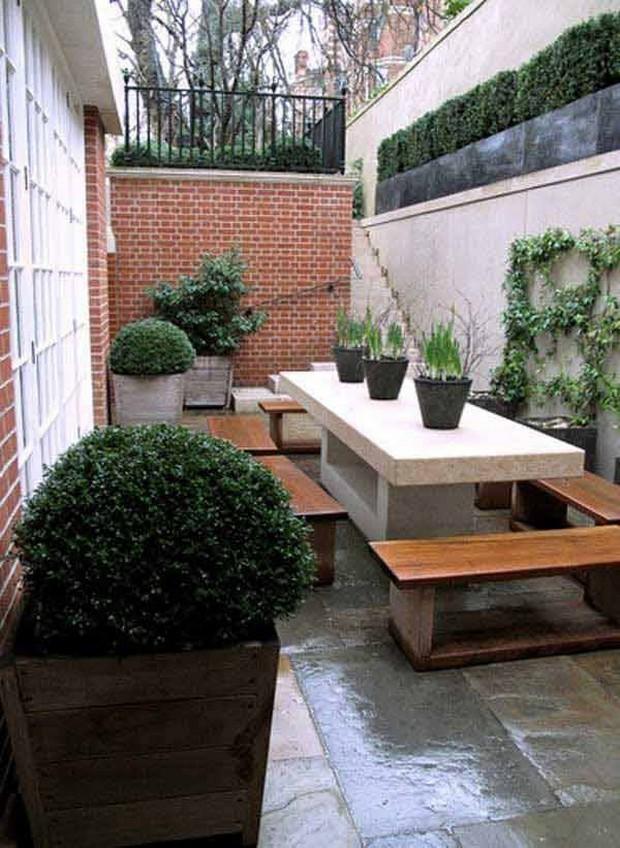 short garden idea