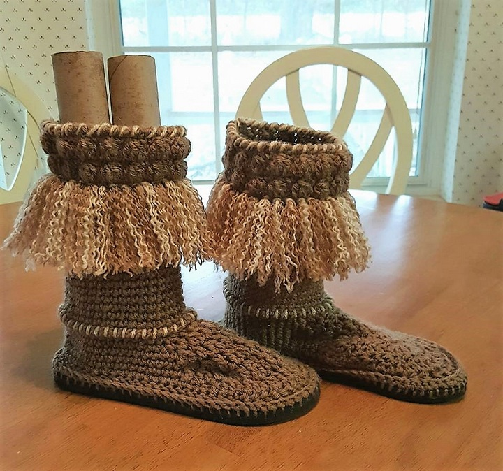 crochet-shoes