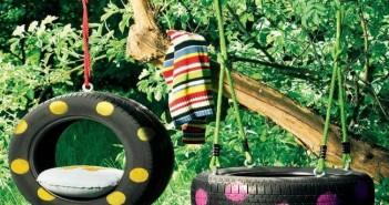 Old Tires Recycled Hammocks