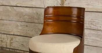 Barrel Metal Chairs