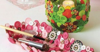 Buttons Upcycled Crafts