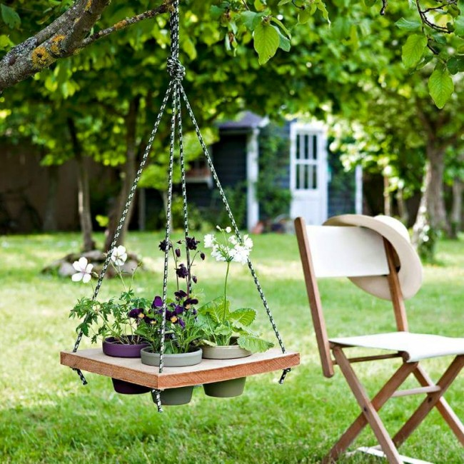 Garden Decor Using Pallets: Home Decor Ideas With Wood Pallet