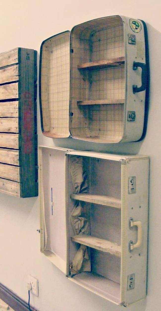Ideas to Repurpose Old Suitcases | Upcycle Art