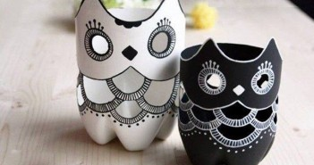 Plastic Bottles to Adorable Owl