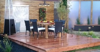 Pallet Garden Deck Ideas