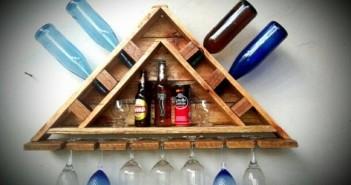Pallet Wine Holder Plans