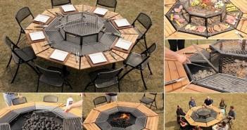 Unique BBQ Table
