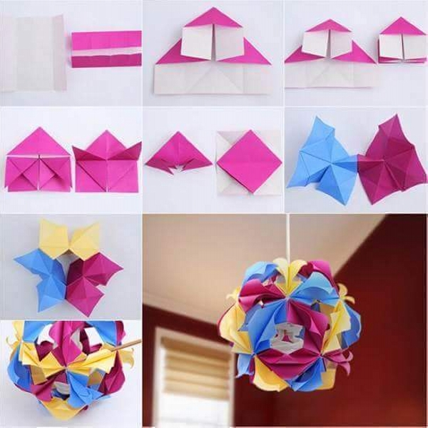 Diy paper flower projects upcycle art for Art and craft for home decoration with paper