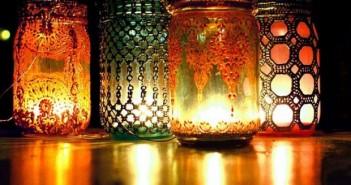 Mason Jars Lighting Art