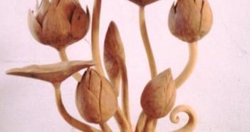 Wooden Flowers