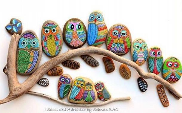 Creative Stone Art Ideas Upcycle