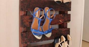 Pallet Shoe Rack Project