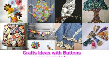 Crafts ideas with buttons
