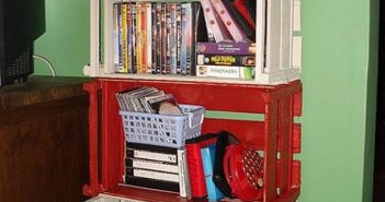 Crates Shelves Ideas