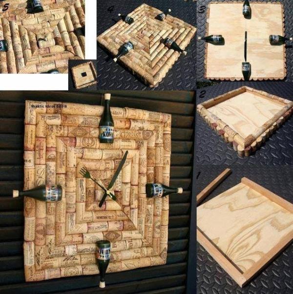 Decorative Wine Stopper / Cork Crafts | Upcycle Art
