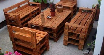 pallet garden lounge furniture