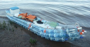 Recycled Pet Bottles Boat