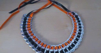 tin can tops necklace