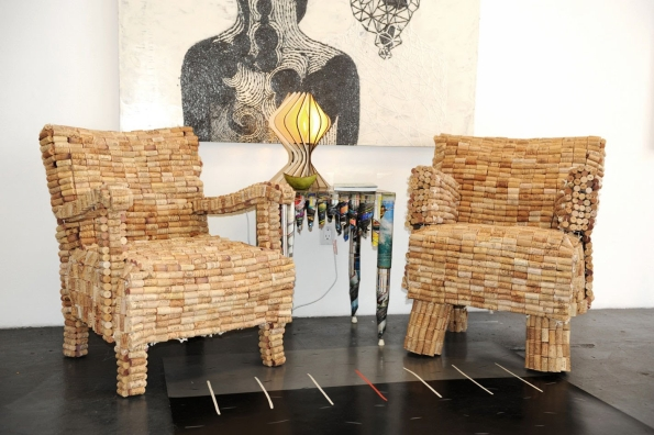 Upcycled Cork Furniture Ideas Upcycle Art