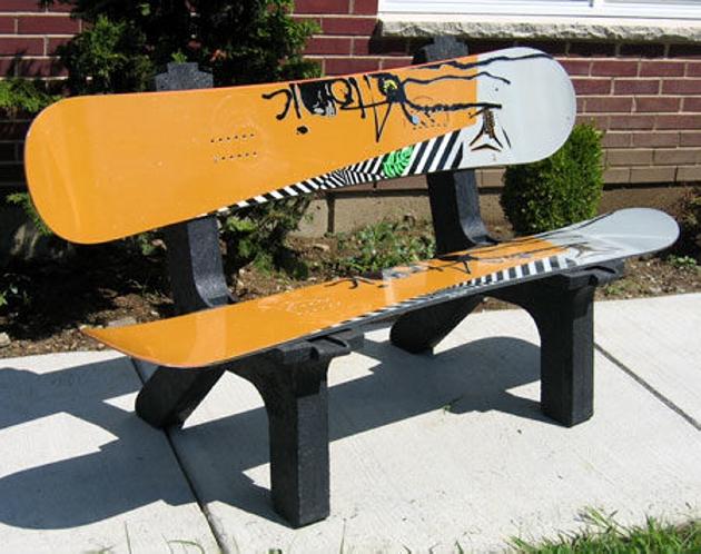 Upcycled Snowboard Ideas Upcycle Art