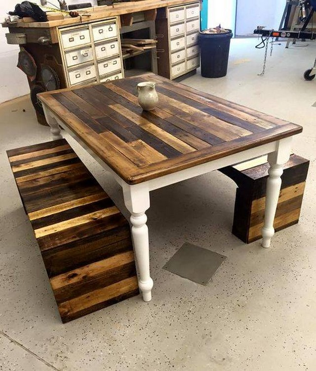 Pallet Wooden Made Furniture