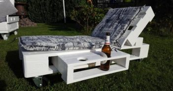 unique pallet sun lounger