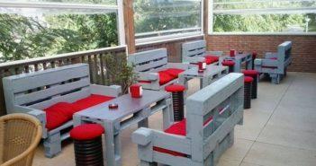 patio lounge pallet furniture